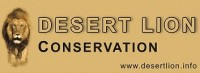 We support Desert Lion Conservation
